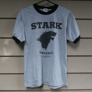 🍉$10 HBO Game Of Thrones Stark T Shirt Medium